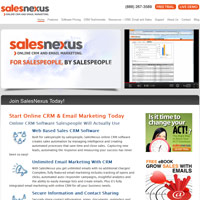 SalesNexus screenshot