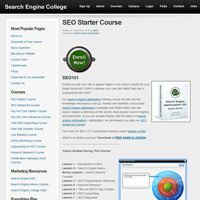 SEO Starter Course screenshot