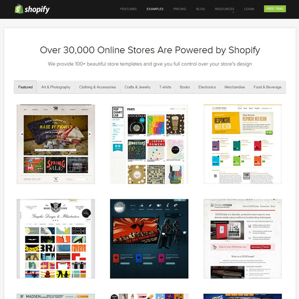 Shopify Client Gallery