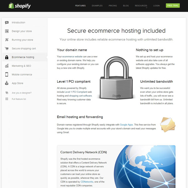 Shopify Ecommerce Hosting