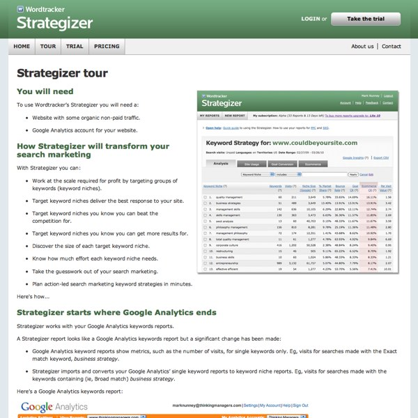 Strategizer Tour
