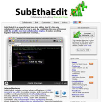 SubEthaEdit screenshot