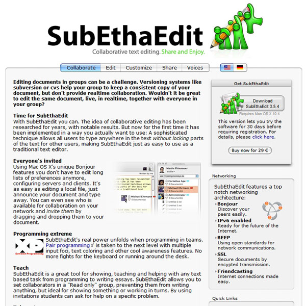 SubEthaEdit Collaborate