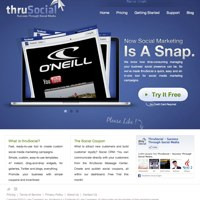 ThruSocial screenshot