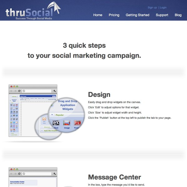 ThruSocial Getting Started