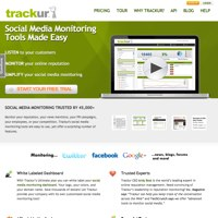 Trackur screenshot