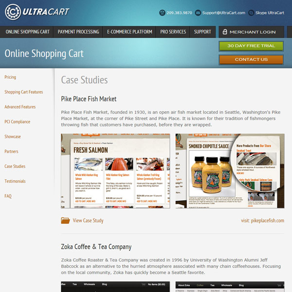 UltraCart Case Studies