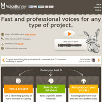 VoiceBunny screenshot
