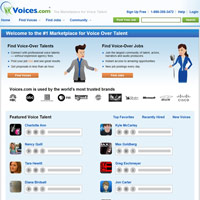 Voices.com screenshot