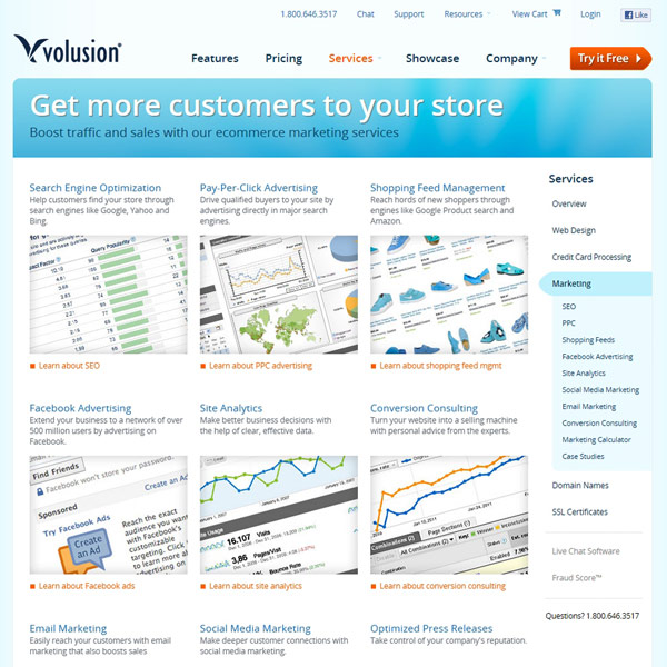 Volusion Marketing Services