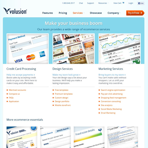 Volusion Ecommerce Services