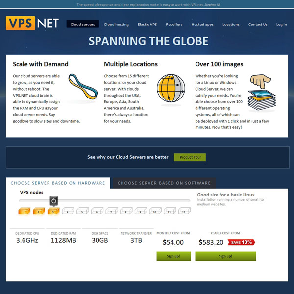 VPS.net Cloud Servers
