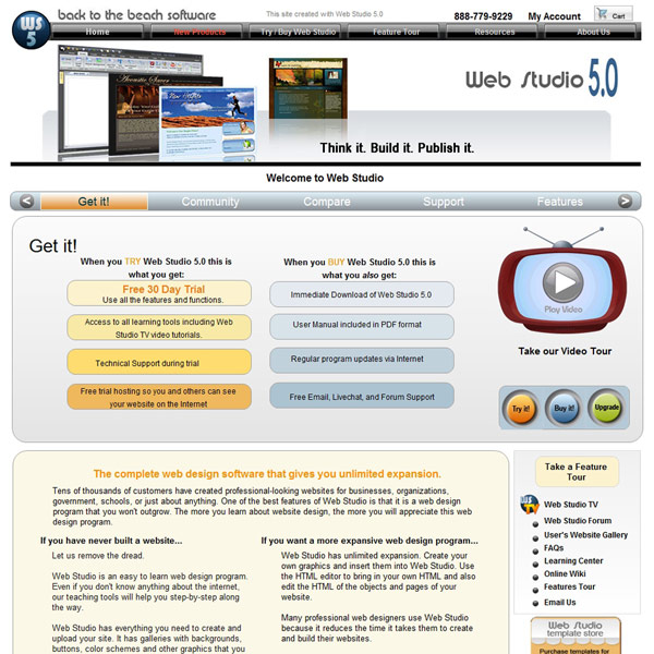 Web Studio Homepage