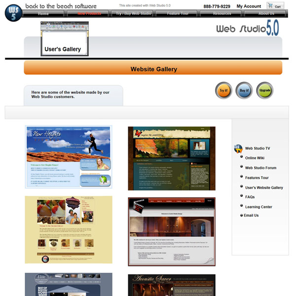 Web Studio Client Gallery