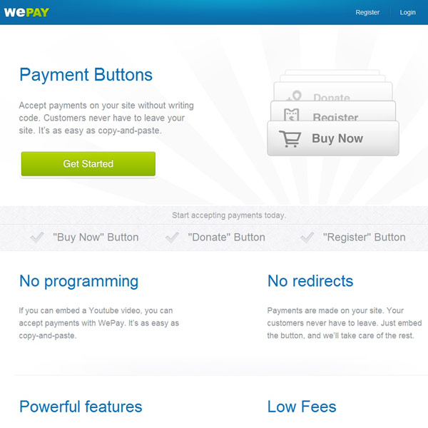 WePay Payment Buttons