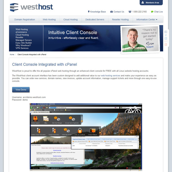 WestHost Cpanel Integration