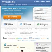 Wordtracker screenshot