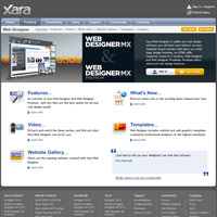 Xara Web Designer screenshot