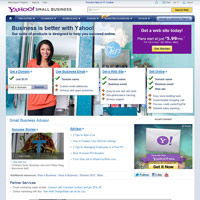 Yahoo! Small Business screenshot
